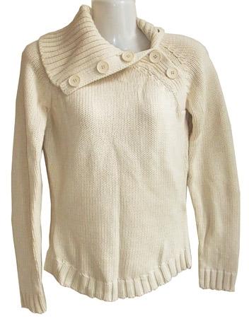 katoenen Vero Moda trui in vanille,  maat S