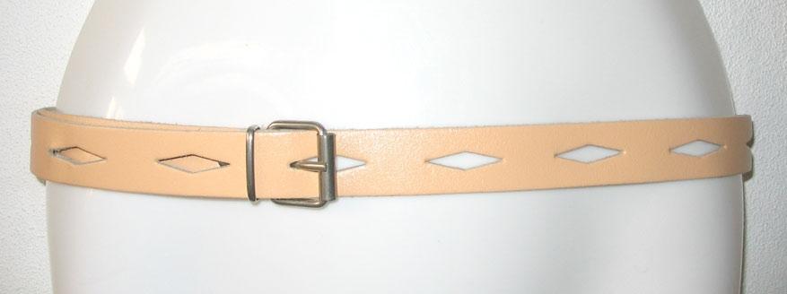 abrikoos ceintuur met wybertjes