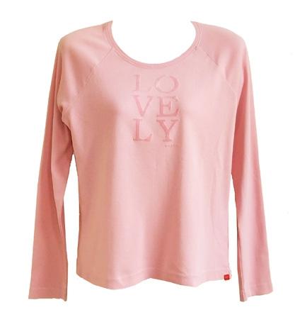 zachtroze Lovely shirt van Esprit,  maat M