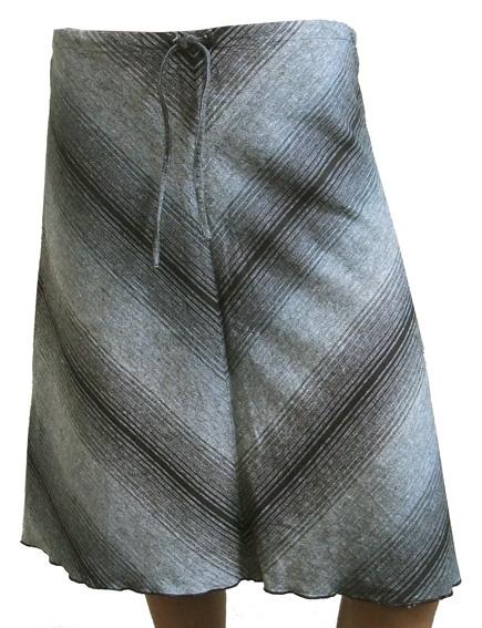 A-lijn rokje met V-patroon,  maat 34