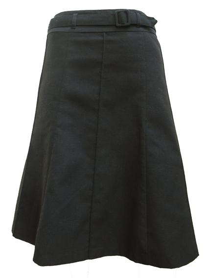 A-lijn rok met ceintuur,  maat 44