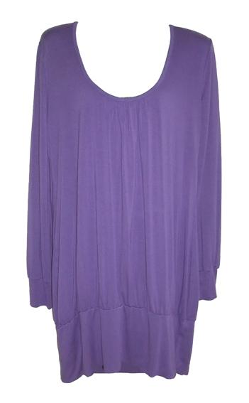paars Fashion shirt,  maat L / XL