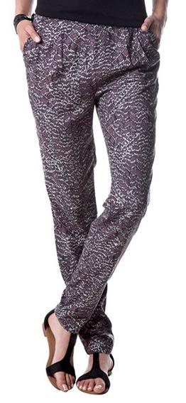 chino pantalon met dierenprint - nieuw -,  maat 38