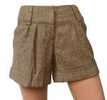 hot pants in visgraatmotief, maat 36
