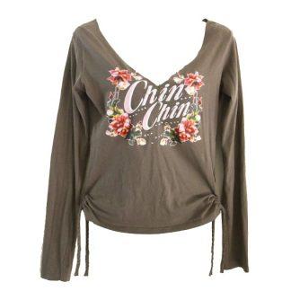Chin Chin shirt met strass