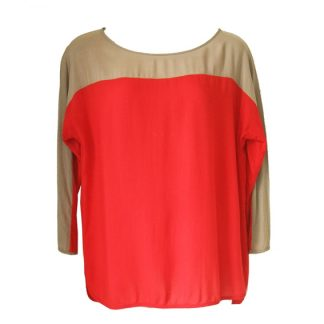 "Mango blouse ""Colourblocking"""