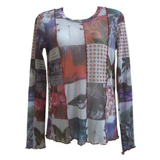 "Marc Cain top ""Peaceful"""
