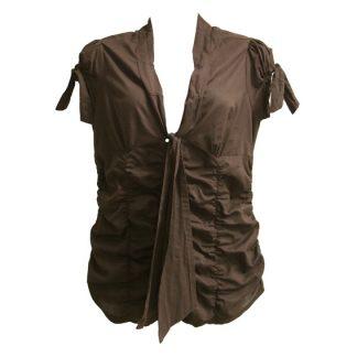 "Watcher blouse ""Chocolate"""