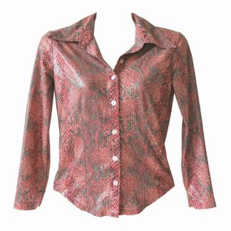 MNG crocoblouse