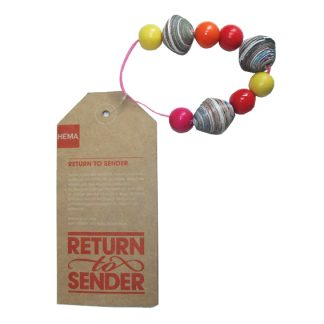 kleurige Return to Sender armband