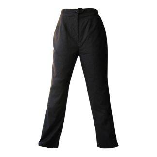 RAAM-pantalon met zilver krijtstreepje
