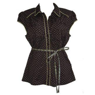 DEPT polkadot blouse