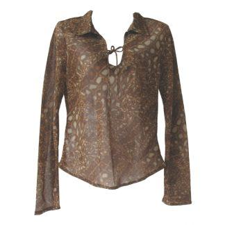 Vila croco-blouse