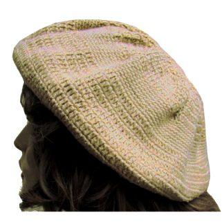 gehaakte baret