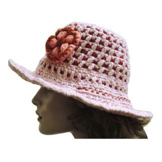 gehaakte hoed