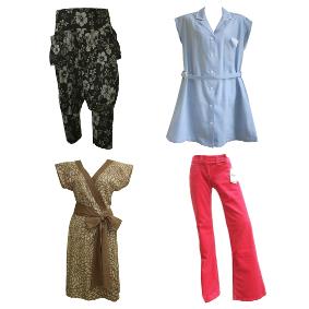 broeken, jurken en rokken in maat XS en kleiner