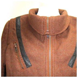 "Liebeskind jas ""tweed"""